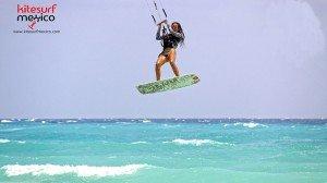 kiteboard-Punta-Venado-girl-jump