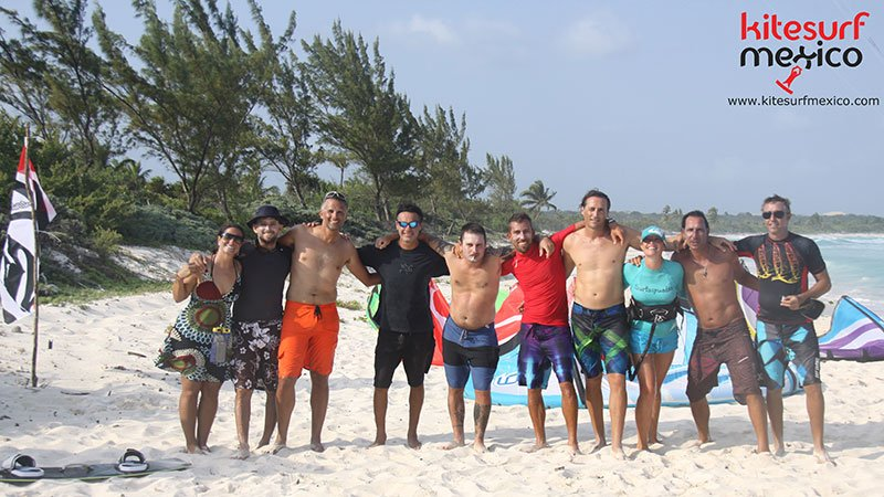 kiteboard-Punta-Venado-group