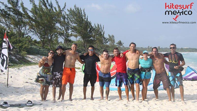 kiteboard-Punta-Venado-group