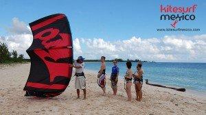 kiteboard-playa-del-carmen-lessons-group