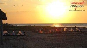 kiteboarding-san-felipe-sunset