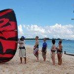 kitesurf-playa-del-carmen-leccion-de-grupo
