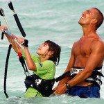 kitesurf-playa-del-carmen-nino-kite-control
