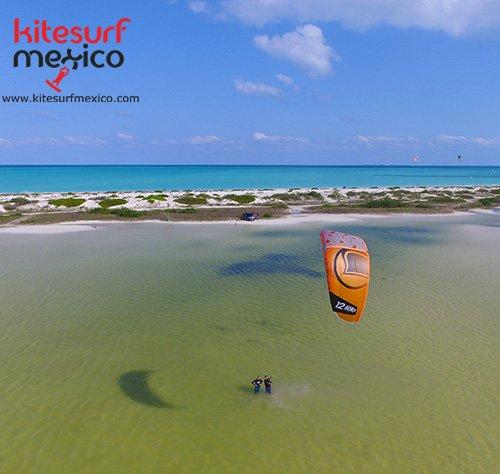 Aprender Kiteboarding Mexico lesso