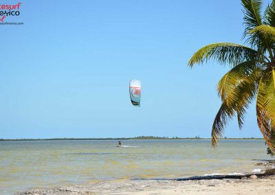 Isla-Blanca-kiteboarding-solo